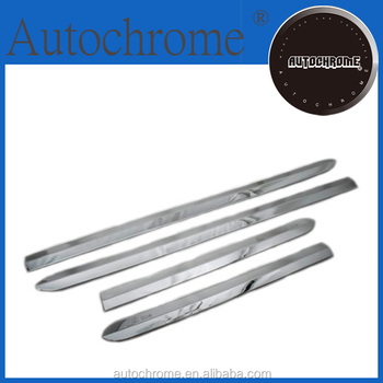 Professional car accessory stainless steel rear bumper guard plate for Audi Q3 2013 Up