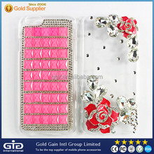 [GGIT] New Soft Acrylic Cell Phone Cover With Bling Diamond Girl Gift Case for iPhone 6