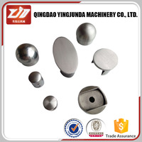 stainless steel handrail fitting decorative end cap metal end cap