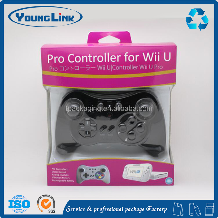 Wholesale bluetooth wireless wired USB game controller electronic paper box
