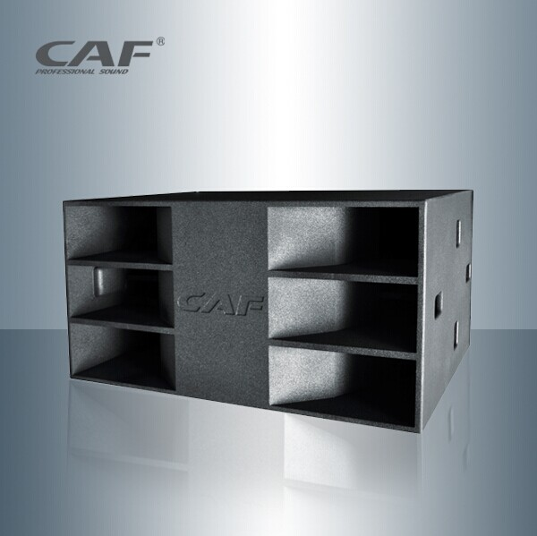 CAF dual 18-inch subwoofer