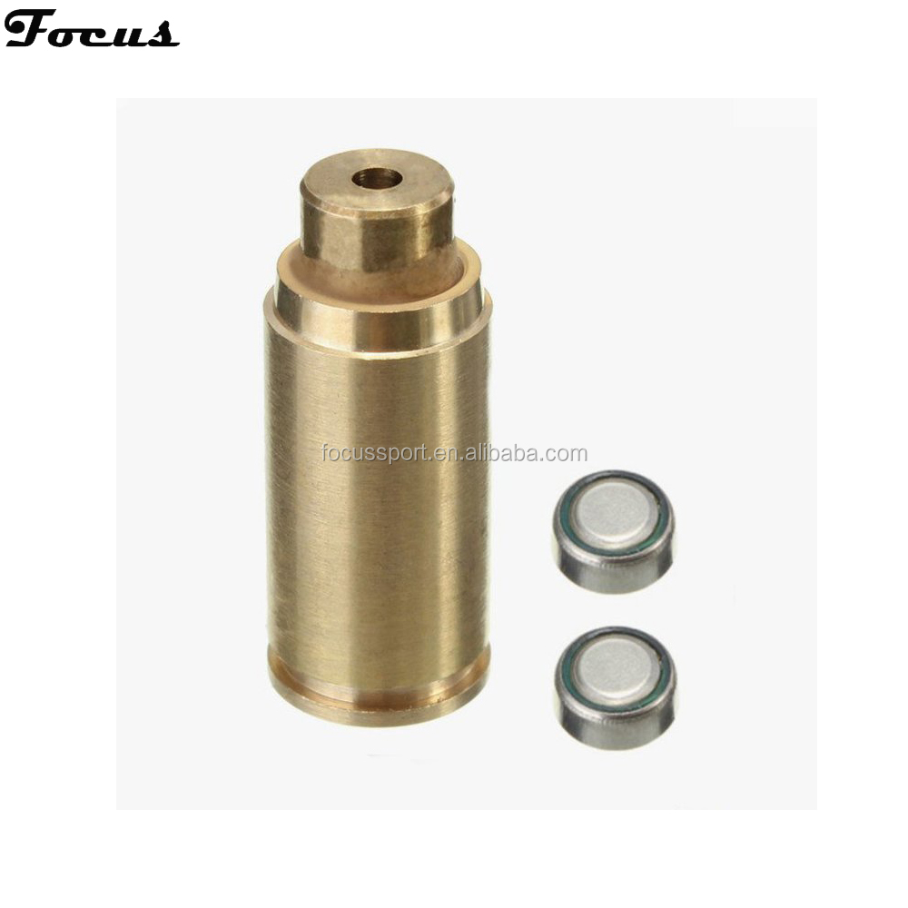 Focus bullets 9mm Small Red Bullet Laser Bore Sight laser bullet Style Hunting Accessories