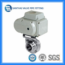 Stainless Steel 1 Inch Electric Actuator Butterfly Valve