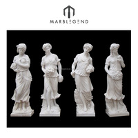 Bespoke Natural stone hand carved marble figure sculpture