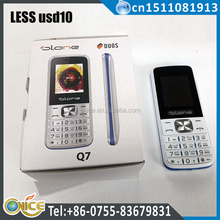 half price mobile phone handsfree gsm 850 900 1800 1900 mhz low price used mobile phones with torch GSM phone Q7