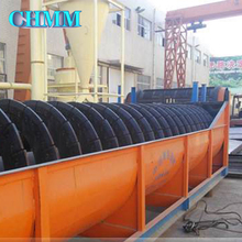 Industry High Quality Seperation After Ball Mill High Weir Sand Single Spiral Classifier For Sale