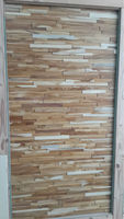 Cheap goods from china industrial real wood wall panel for interior decoration