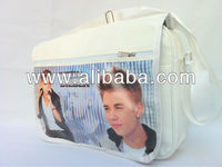 JUSTIN BIEBER Shoulder Messenger Gym Sport School College Bag a16