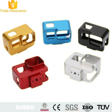 Gopro hero 5 camera frame mount protective case cover aluminum housing shell frame panasonic digital camera spare parts