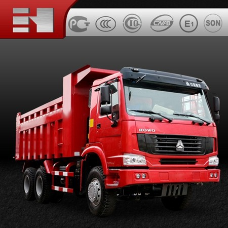 2015 hot sale EGR 6x4 Euro 3 dump truck/300hp engine