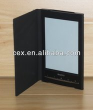 6 Inch Ebook Case PU Leather Skin Case For Sony Reader PRS T1 T2