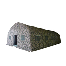 desert camouflage outdoor mobile camping inflatable military tent for warehouse party