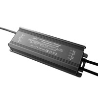 low price 150w Dali dimmable constant current waterproof led power supply with 5 years warranty