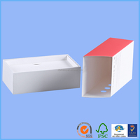 paper gift box diy aluminum project box digital electronic components storage safe box