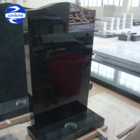 European Style Shanxi Black Granite Carving
