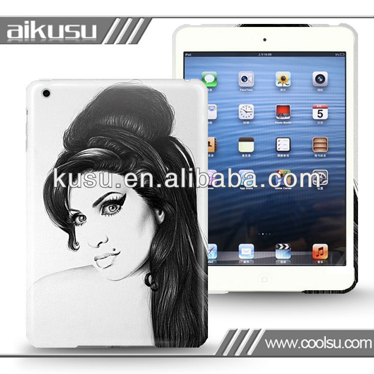 3D color printing!!! Customized design case for mini ipad