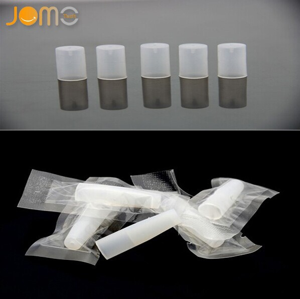Jomo silicone test tip for e-cig /510 disposable atomizer drip tip/rubber tip