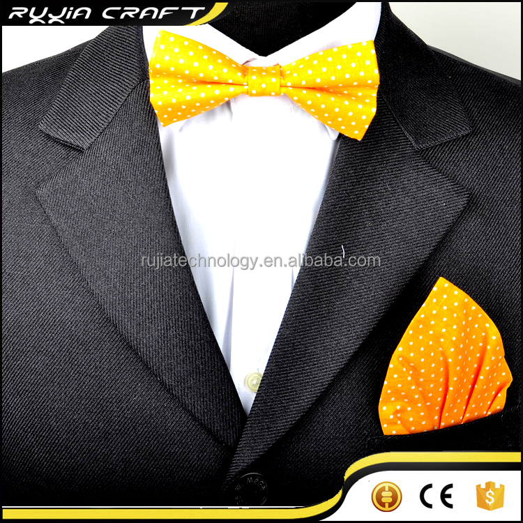 Handmade Hanky And Bow Tie For Men
