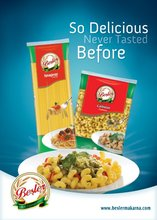 100% DURUM WHEAT TURKISH PASTA