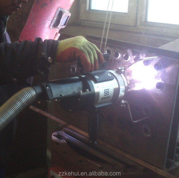 orbital welding head for tube to tubesheet welding with both fusion welding and fillet wedling