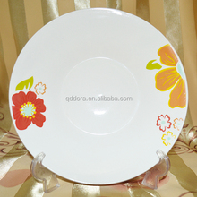 ceramic soup plate fake golden decal-058