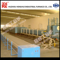 Factory price 360KW Lithium battery cathode material industrial furnace with automatic propulsion system
