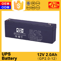 China manufacturing ups power tools 12v 2.0ah battery
