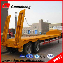 Multi Axle Extendable Lowbed Semi Trailer For Wind Blade