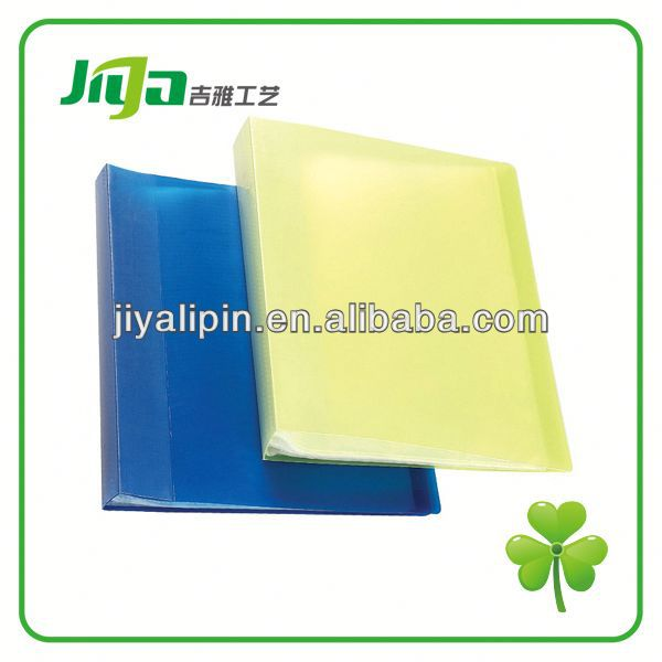 2014 display book clear plastic report cover for sell in China