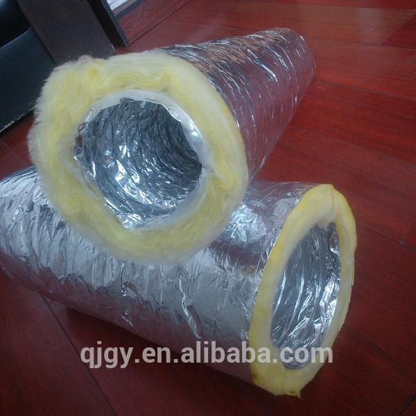 yielding sound attenuator ducting for architectural