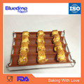 Silicon oblong shape bread bakery moulds
