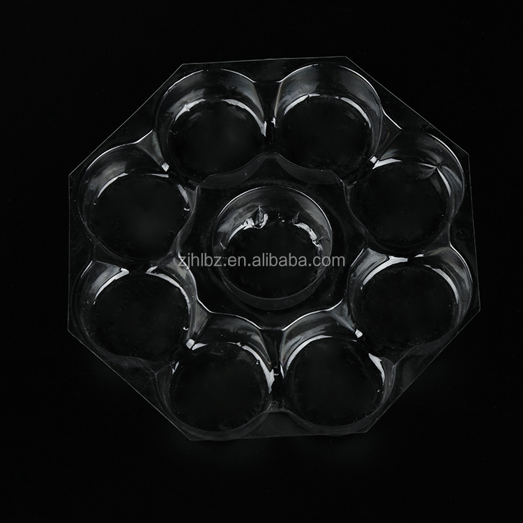 Custom logo printed made chocolate cookie macaron plastic packaging box/clear plastic cake box(blister tray-249)