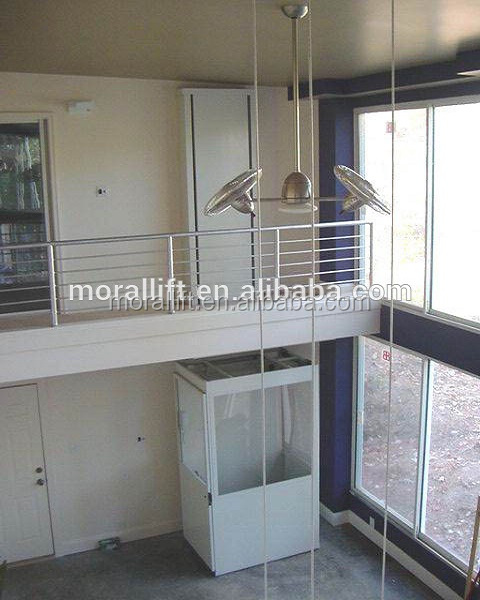 Cheap vertical home elevator for disabled people