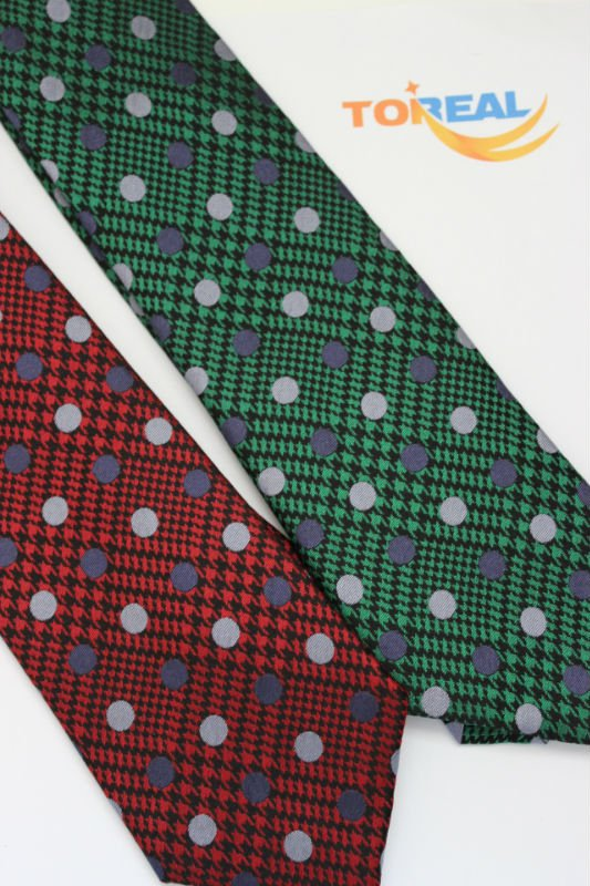 Silk Necktie New Striped and Dots Design TR018