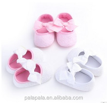 2016 New Style Satin Girl Baby Shoes In Bulk wholesale kids shoes manufacturers china