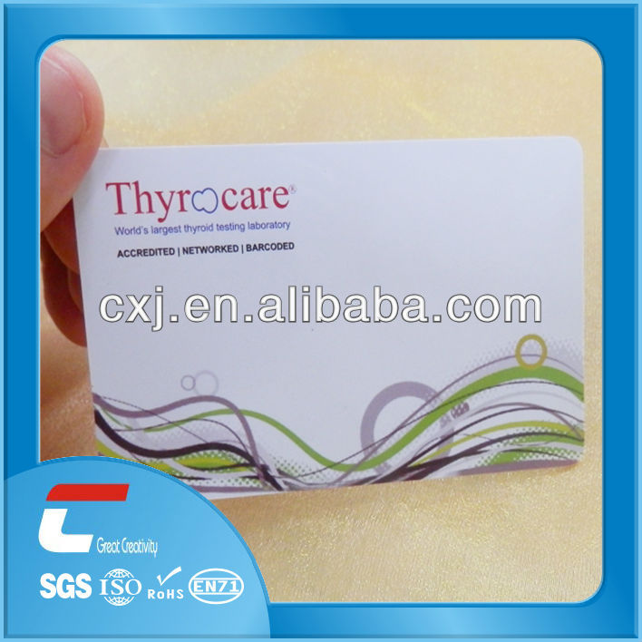 cr80 plastic medicare card