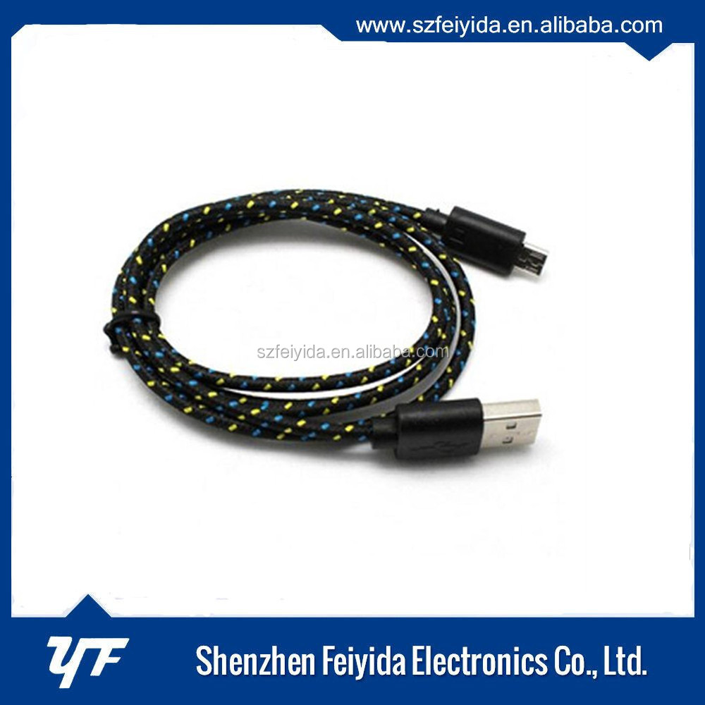 Reliable Performance Alloy Nylon Braided Printer Usb 3.0 Cable for Sony xperia z2
