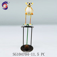 Factory directly sell balance decorations animal design metal mouse sculpture craft