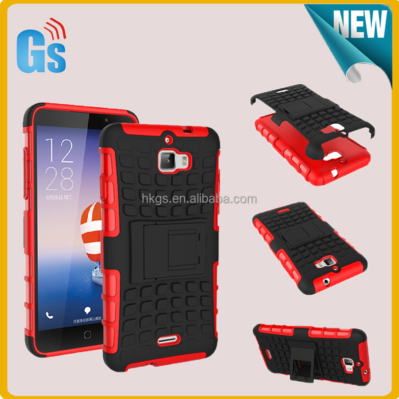Heavy Duty Combo Hybrid Kickstand Cover For Coolpad Dazen 1 Case