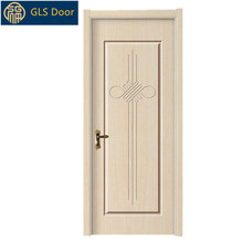 cheap wooden room door mdf pvc apartment doors plain interior door with good price
