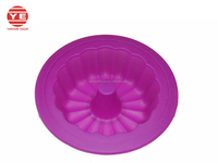(DCS-CK043) Mini Rose Shape Silicon Baking molds Silicon bakeware