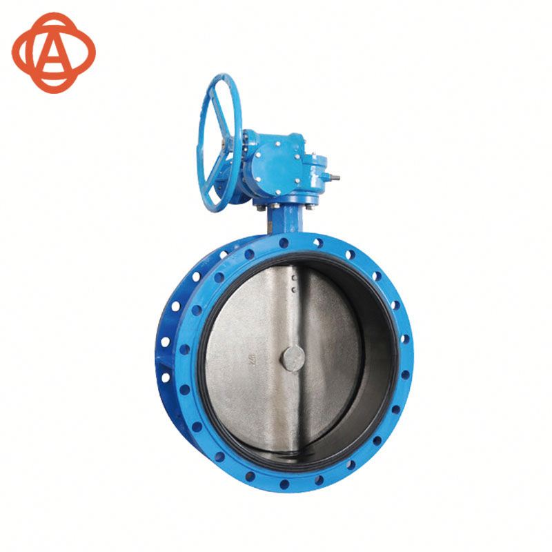 Hot New Dn40-Dn1200 Concentric Disc Flanged Butterfly Valve