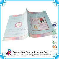 OEM softcover glossy lamination eco friendly book printing