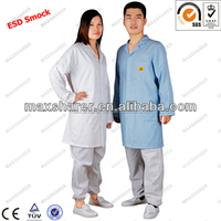 anti static apron for men esd smock work apron