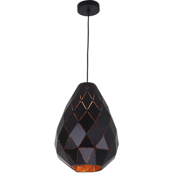 Home Decor Polygon Single Metal Pendant Lighting Lamp Shade