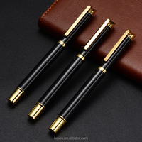 Promotional high quality custom refill metal ball point pen