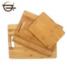 Kitchen Accessories 3 Pieces organic bamboo chopping board