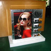 Wall Mount Large Plastic Sunglasses Display
