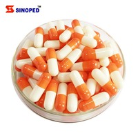 Size 00 0 1 2 3 gelatin capsule joined or separated colorful or royal gold pearl empty capsules for medicine
