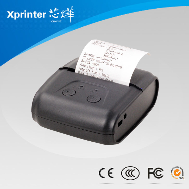 mini thermal portable printer with android
